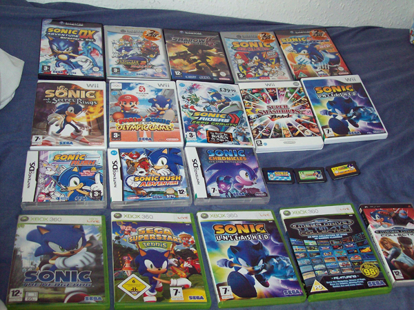sonic 06 how to start a new game
