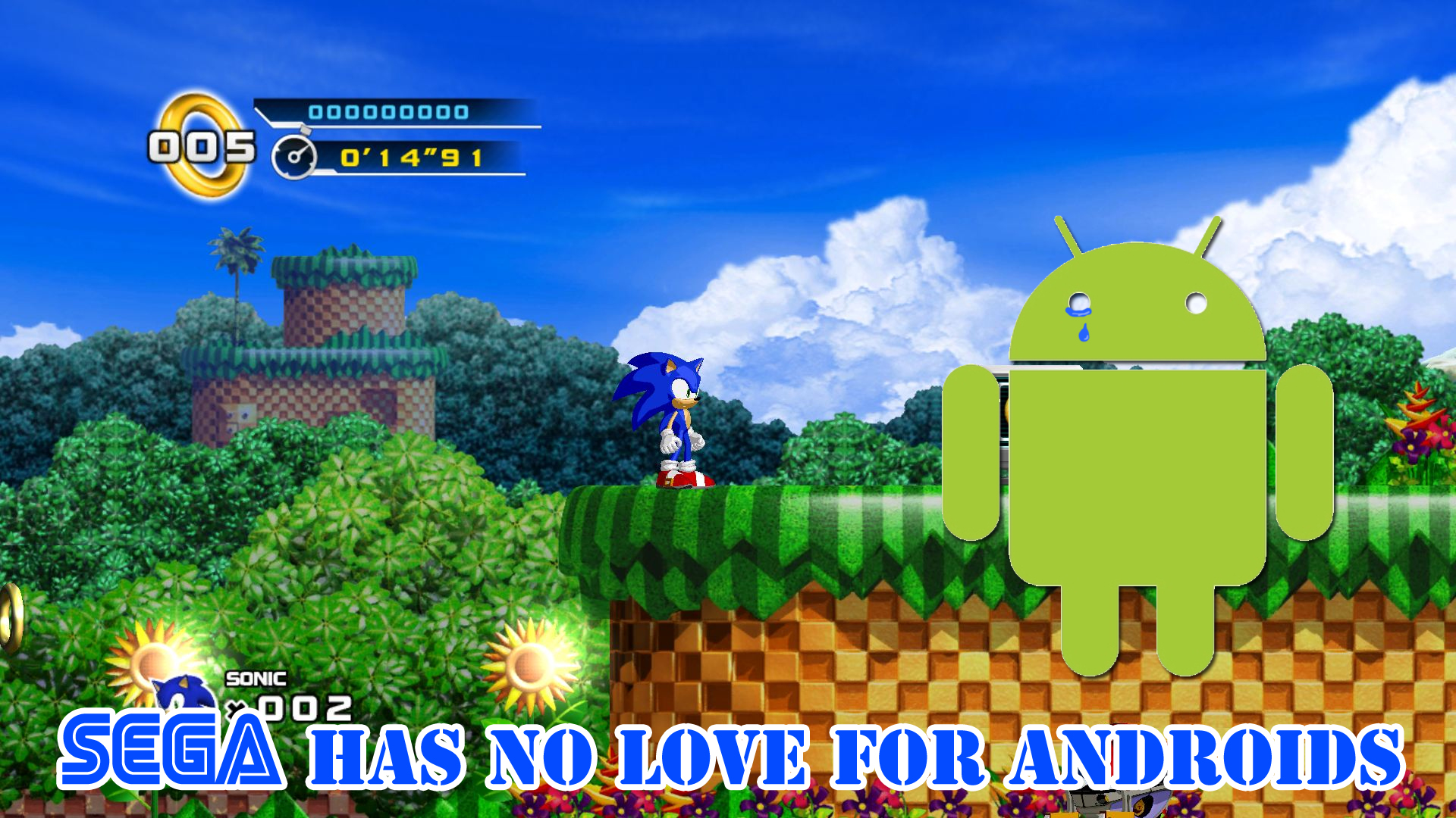 Phone Sega Games For Android Phones sega says no to sonic 4 for android phones segabits according the npd os is top selling in america right now given this sudden surge popularity you would think wan